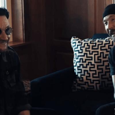 Bono e The Edge concedem entrevista à Radio.com