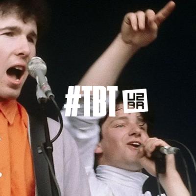 #TBT: A primeira vez do U2 em um festival