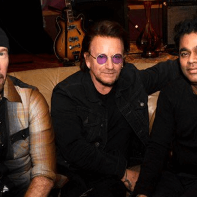 "U2 tocará ""Ahimsa"" com Rahman na Índia"