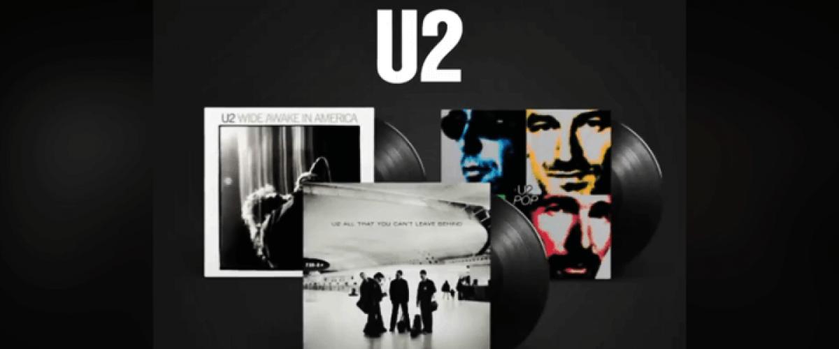 U2 anuncia lançamento de três novos vinis reeditados de seu catálogo