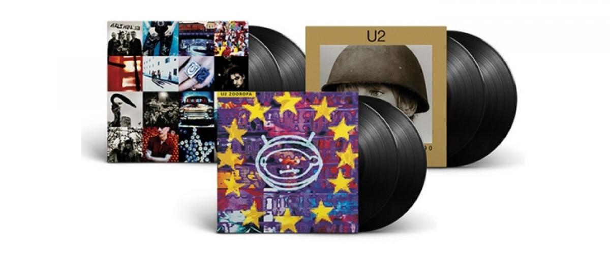U2 anuncia o lançamento de mais três vinis reeditados
