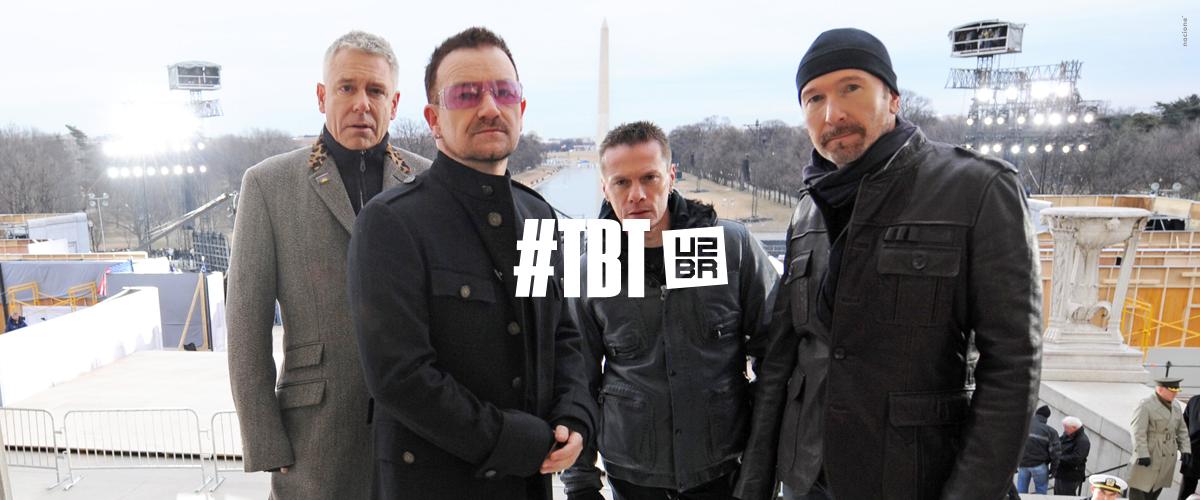 #TBT: Bem-vindo aos melhores momentos do U2
