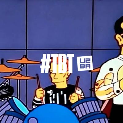 #TBT: Quando o U2 deu voz aos Simpsons