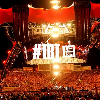 #TBT: 10 anos da transmissão do U2 no YouTube