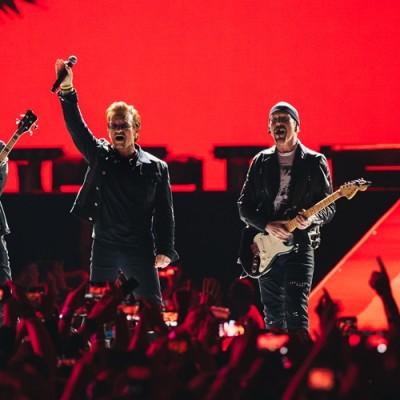 U2 é a banda com maior bilheteria da década