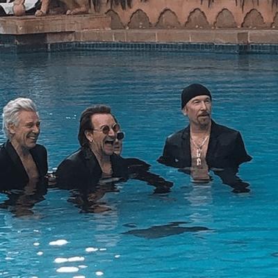 U2 realiza sessão de fotos em Mumbai