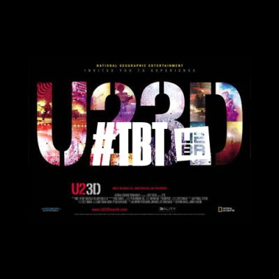 """#TBT: Quando o """"U2 3D"""" mudou o paradigma na história do cinema"""
