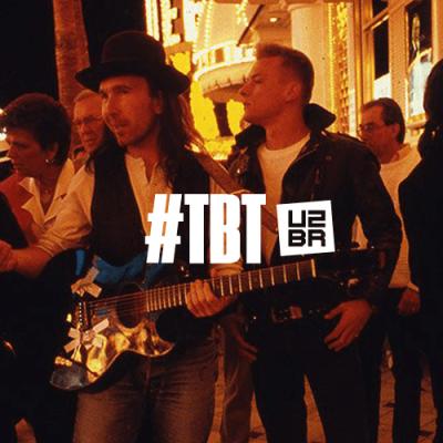 #TBT: Quando o U2 gravou um clipe nas ruas de Las Vegas
