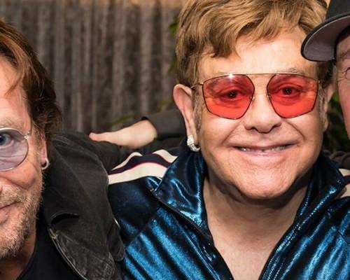 Música de U2 e Elton John será lançada em julho
