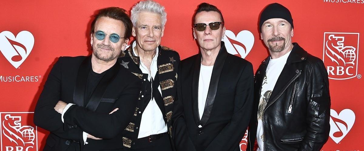 U2 doa mais 1 milhão de dólares para funcionários de shows e eventos