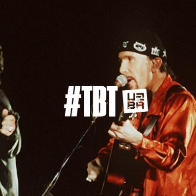 #TBT: Quando o U2 conectou Sarajevo com o mundo