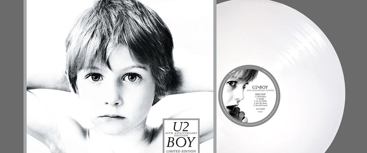 """U2 irá relançar vinil de """"Boy"""" no Record Store Day"""
