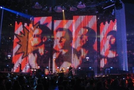 Palco da Vertigo Tour do U2